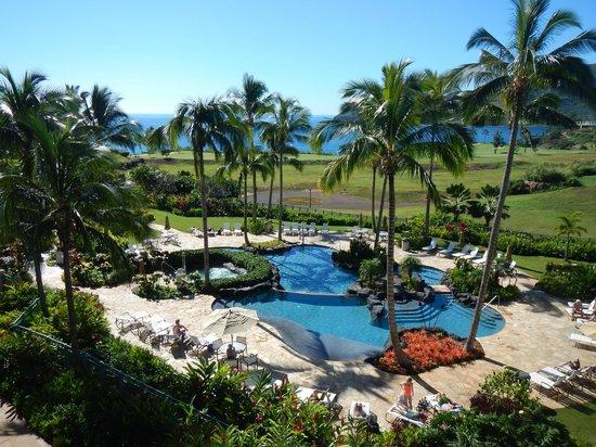 Marriott's Kauai Lagoons - Kalanipu'u : View from our Balcony room 1419