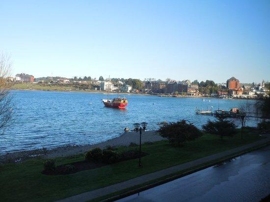 Hotel Cabana del Lago: vista do quarto: lago