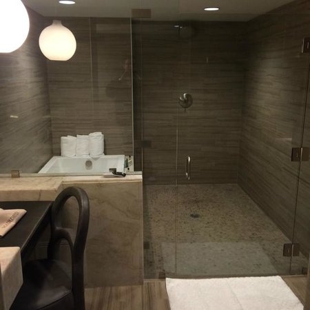 Hilton Columbus Downtown: Bathroom View