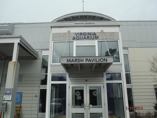 Front Entrance To Marsh Pavilion Picture Of Virginia
