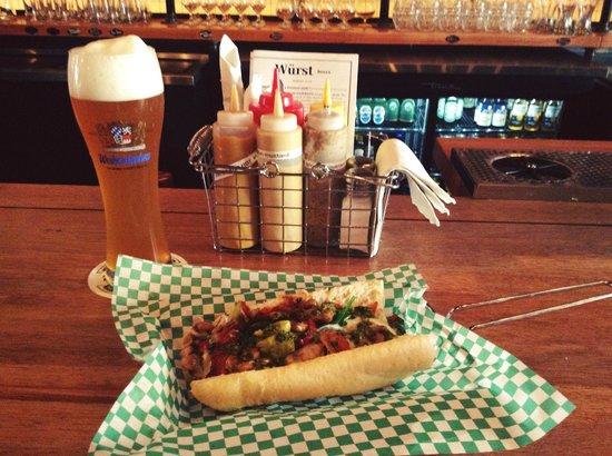 Wurst Bier Hall: Vegetarian Fargo