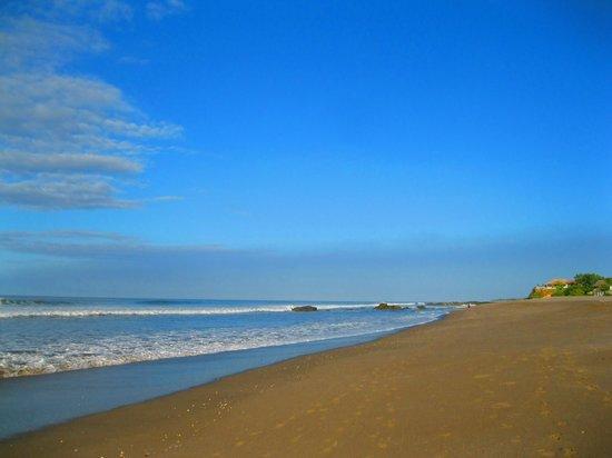 Hotel Villa Ordonez : La playa