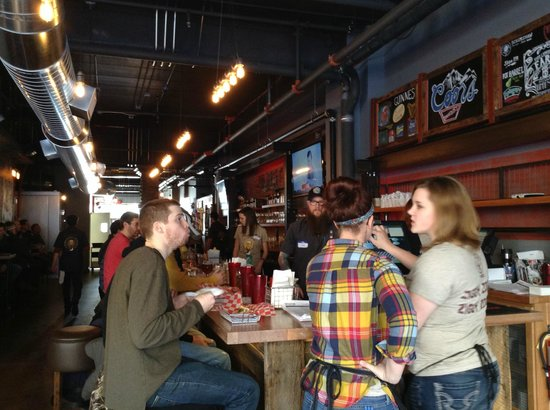 Wurst Bier Hall: first weekend open!
