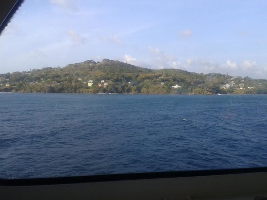 Castara Retreats: boat trip around tobago