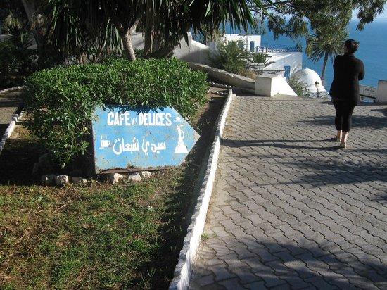 Sidi Bou Said, Tunisia: café des délices
