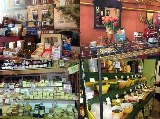 Cheese Importers: Sweets, Treats and the fabulous refrigerated Cheese Room