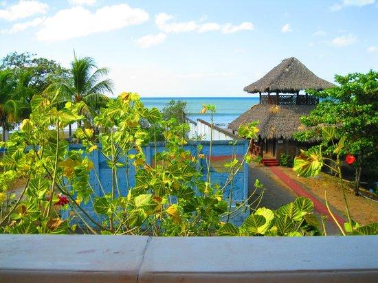 Hotel Villa Ordonez: Vista desde el área de comedor