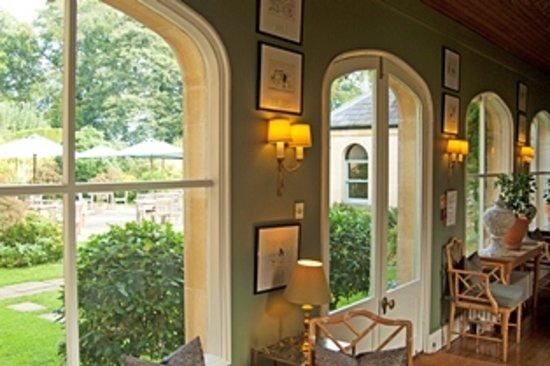 Beechfield House Restaurant: The orangery