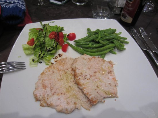 Le Transalpin : pork steaks