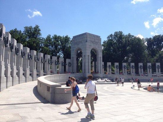 National World War II Memorial: The ramp up