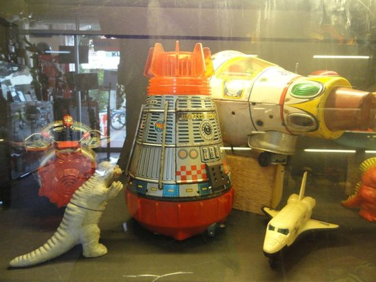 Ben's Vintage Toy Museum Penang: space toys
