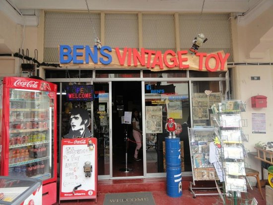 Ben's Vintage Toy Museum Penang: entrance of the museum