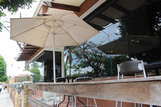 Hotel El Rancho: Terraza del Restaurante El Pesebre