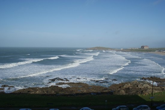 Fistral Beach Hotel and Spa : A Room with a View