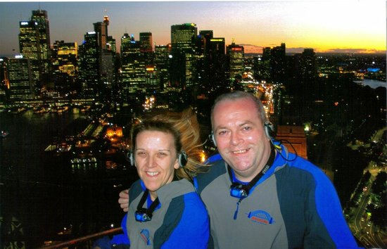 BridgeClimb: Top of the Bridge overlooking Sydney