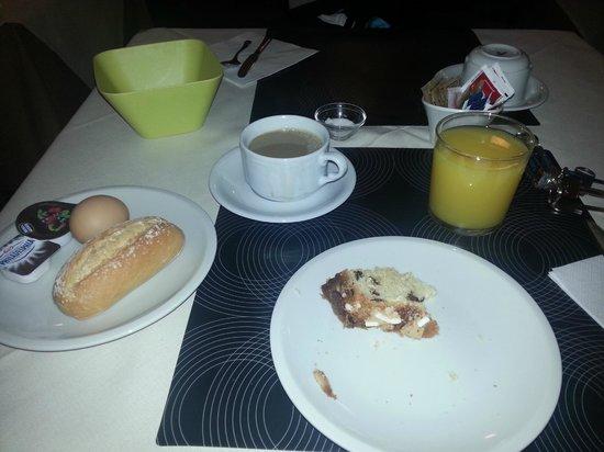 Hotel Locanda Salieri : Desayuno