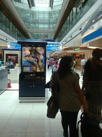 Eickhoff: Emirates International Airport.