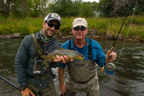 Wasatch Adventure Guides: World class trout rivers close by.
