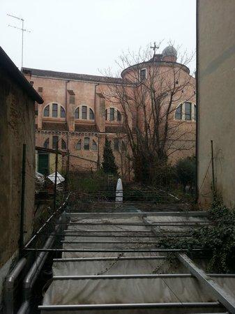Hotel Locanda Salieri: Vista desde la habitacion