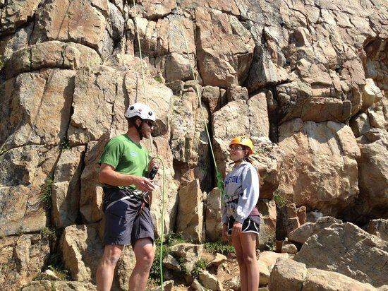 Wasatch Adventure Guides: Park City Rock Climbing fun !