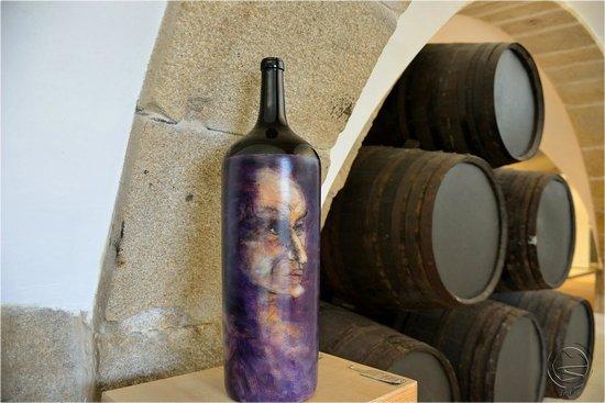 Museu do Vinho de Porto: Треть экспозиции музея...