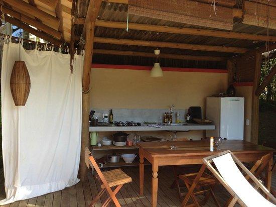 Soleluna Casa Pousada : Cozinha totalmente equipada no Mini Spa
