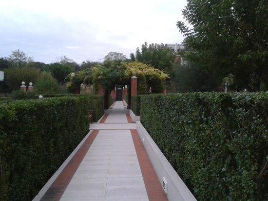 Le Ville del Lido Suite Residence: gardens