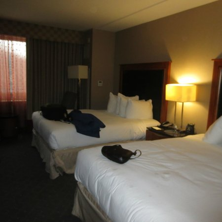 Hilton Baltimore BWI Airport: Nice beds!
