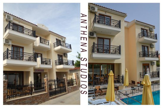 Anthena studios skiathos skiathos town apartment for Skiathos town hotels