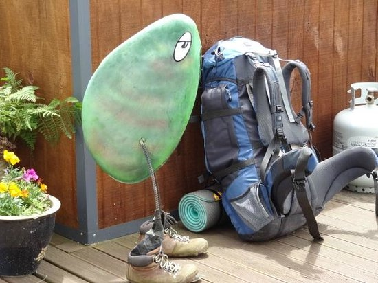 Blue Moon Lodge: Backpacking Greenshell Mussel