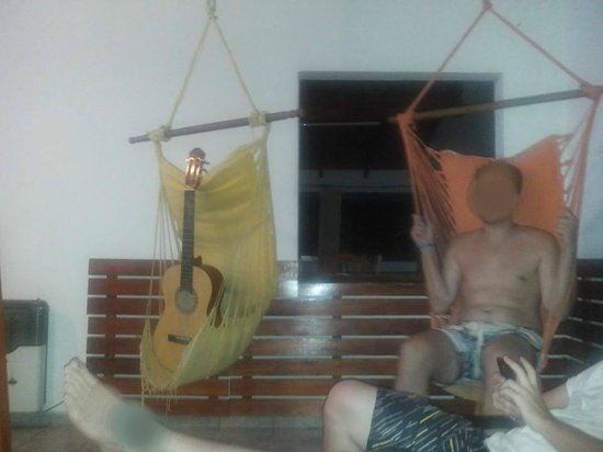 Carlos Paz Hostel: Este es el living que comenté