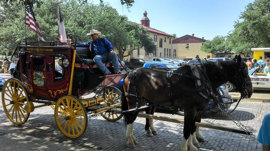 Fort Worth Stockyards National Historic District: Diligência