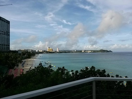 Guam Reef & Olive Spa Resort: View from room 2