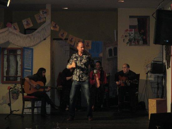 Casa Vicente: Flamenco dancer