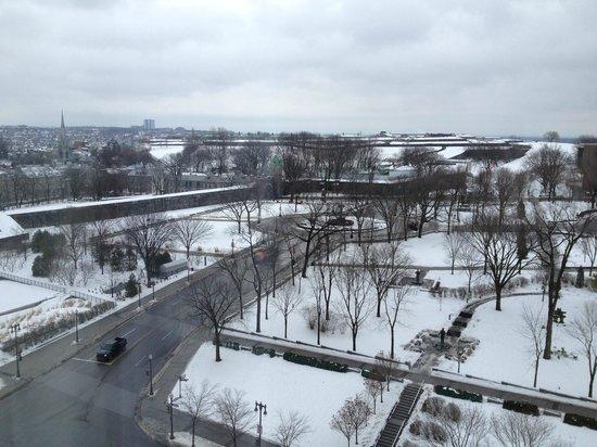 Hilton Québec : vista do apto