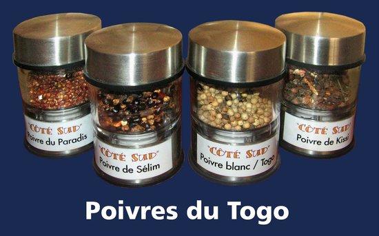 Restaurant Cote Sud: Poivres du Togo....