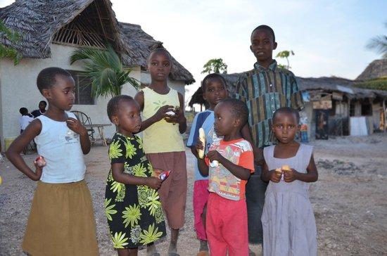 Ora Resort Watamu Bay : un saluto a questi bimbi