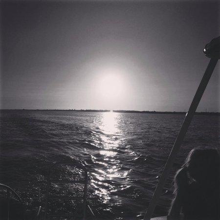 Paradise Catamarans: Amazing sunset