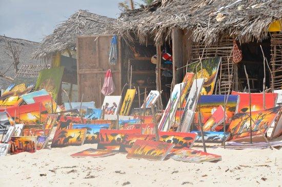 Ora Resort Watamu Bay : il mercatino sulla spiaggia