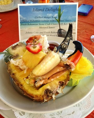 Abaco Beach Resort and Boat Harbour Marina: YUM!