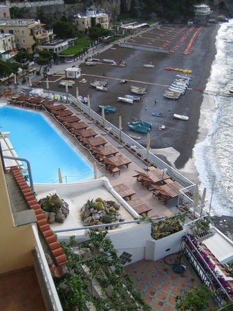 Covo Dei Saraceni: a piscina da sacada da suite do Covo