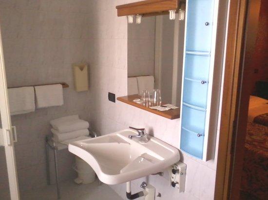 Hotel Milano: il bagno