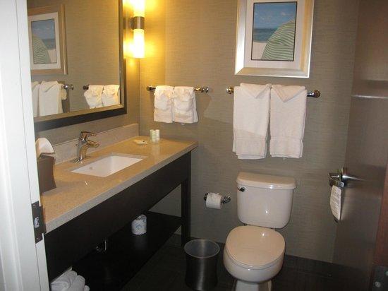Comfort Suites Miami Airport North: Bathroom.