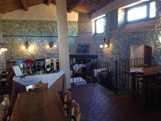 Relais Poggio Borgoni : L'osteria