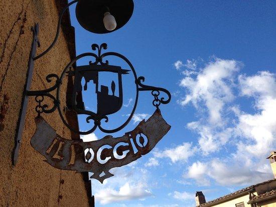 Relais Poggio Borgoni : insegna dell'Osteria
