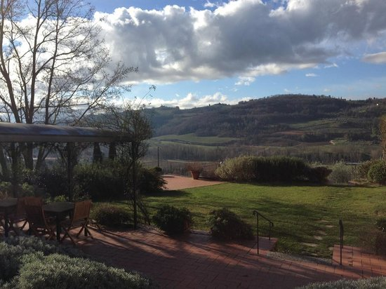 Relais Poggio Borgoni: Panorama