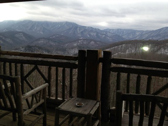 The Lodge at Buckberry Creek : balcony view