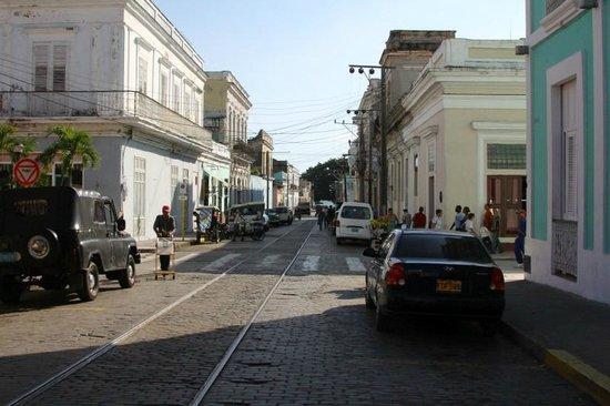 Hotel La Unión Managed by Meliá Hotels International: Hotel on Right - Main Street