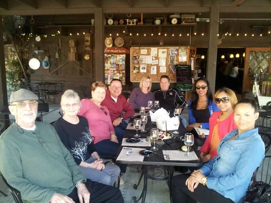 La Jolla Wine Tours San Diego Beer and Wine Tours: and the cheese/fruit platter!