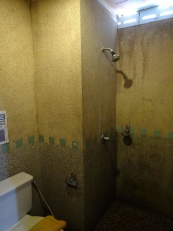 Andaman Legacy Guest House: Bathroom - dank and smelly